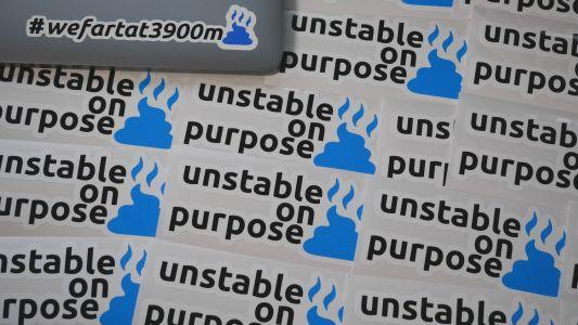 UnstableOnPurposeStickers